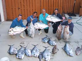 "African Pompanos caught while ""Deep Jigging"""